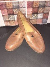 Coach Shoes Palmer Polished Leather Q6166 Saddle Loafer Size 6 $258.00 - $20.00