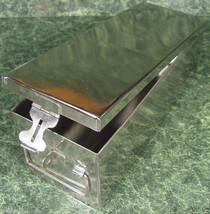 "12"" Stainless Steel STORAGE BOX New tool Craft cash Multi Purpose - $33.46 CAD"