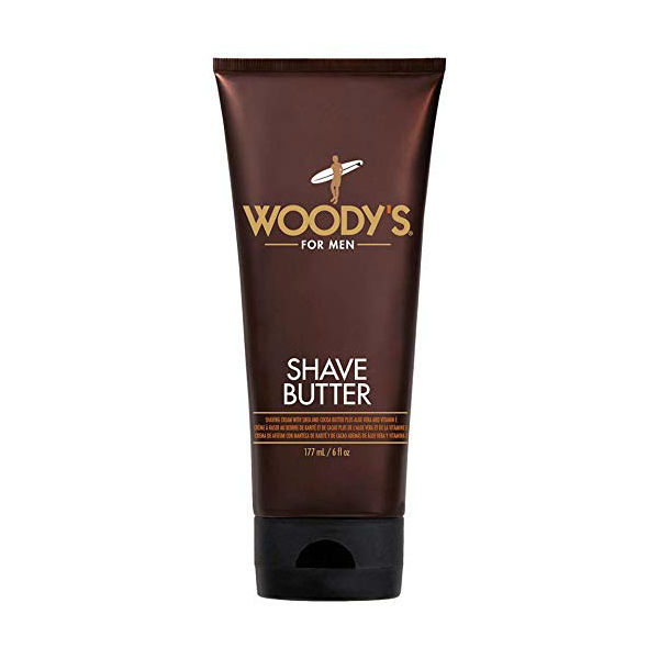 Woody's Shave Butter, 6 oz