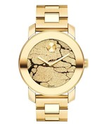 MOVADO Gold Metallic Museum Dial Yellow Gold Unisex Watch 3600346 - $550.00