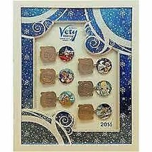 Disney 2016 Mickey's Very Merry Christmas Party Framed 6 Pin Set Limited... - $296.99