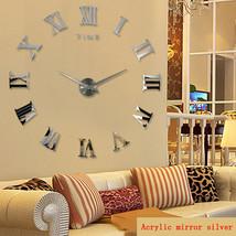 Large Roman Mirror Quartz Wall Clock - $59.95