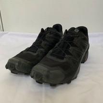 Salomon Speedcross 5 GTX Women Sz 9 Goretex waterproof Black trail running shoes - $111.87
