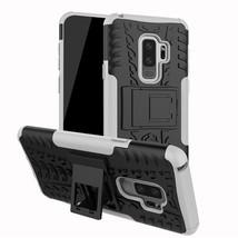 TPU+PC Phone Stand Case For Samsung Galaxy J2 J3 J5 J7 Prime J8 A3 A5 J4 J6 A6 A - $13.95