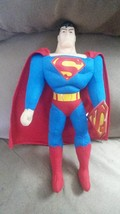 "SUPERMAN Standing Tall Classic Brand New Licensed Plush NWT Tags 15"" Toy... - $14.99"