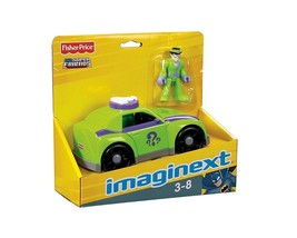 Fisher-Price Imaginext DC Super Friends The Riddler and Car NEW MIP - $112.20