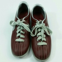 NIKE MAROON Sneakers Bowling Shoes Size US 9  Vintage Genuine  - $294.00