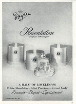 Evyan Presentation Perfume and Cologne 1967 AD Product Packaging Illustr... - $14.99