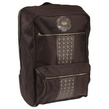 "Billionaire Mafia Large 20"" Brown BM Insignia Backpack School Book Overnight Bag"