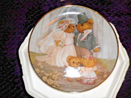 TEDDY BEARS JUST MARRIED FRANKLIN MINT COLLECTION #HH8293 PATRICIA BROOK... - $10.99
