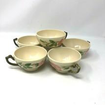 Franciscan Desert Rose Set Of 6 Coffee Tea Cups Mugs Vintage - $24.74