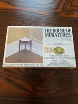 The House Of Miniatures Sealed Corner Table No. 40061 - $14.80