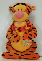 Tiki Kingdom TIGGER Plush Doll Lei Disney Store New with Tag   - $18.97