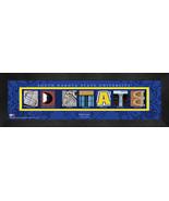 Personalized South Dakota State University Campus Letter Art Framed Print - $39.95