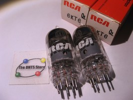 Vacuum Tubes RCA 6KT6 Tube / Valve - in Box Tested Qty 2  - $9.49
