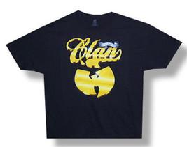 Wu Tang Clan-Gold Clan-Black T-shirt - $17.49