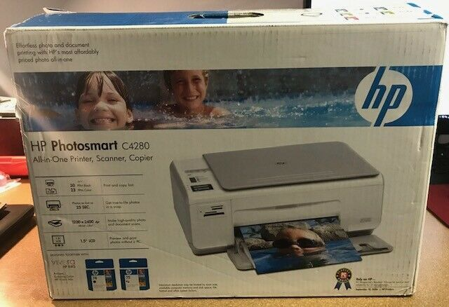 Primary image for HP Photosmart C4280 All-In-One Inkjet Printer