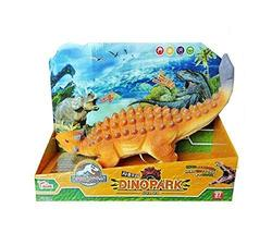 Think Toys Dino Park Sound Dinosaur Ankylosaurus Soft Figure Toy