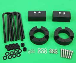 "Fits 04-20 Ford F150 4WD 3"" Front + 2"" Rear Full Level Kit Black Billet ... - $157.95"