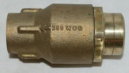 Watts LF601S Lead Free One Inch Silent Spring Check Valve 0555183 image 5