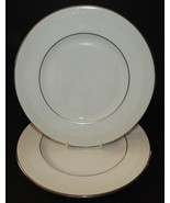 "2 Royal Doulton Amulet Pattern H4998 8"" Salad Plates Fine Bone China Eng... - $39.59"