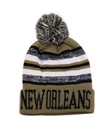 New Orleans City Hunter Men's Blending Winter Knit Cuffed Pom Beanie Hat... - $11.95