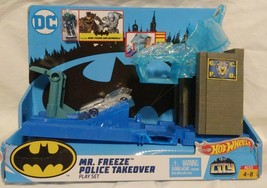Hot Wheels City Dc Mr. Freeze Police Takeover Play Set GBW53 *See Description - $32.66