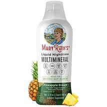 Liquid Sleep Multimineral w/Magnesium & Calcium Citrate by MaryRuth - Pineapple