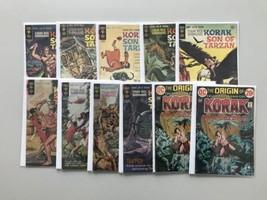 Lot of 18 Korak Son of Tarzan (1964 Gold Key/DC) Extra Staples Near Binding - $59.40