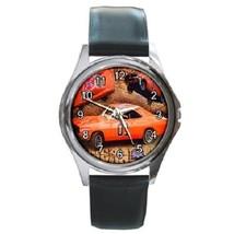 Dukes Of Hazzard General Lee Unisex Round Metal Watch Gift model 17464385 - £10.22 GBP