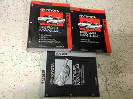 1992 Toyota Camion Service Atelier Réparation Manuel Set OEM 92 W Transaxle Book - $237.04
