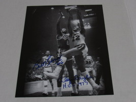 Bill Russell and Elgin Baylor 11 by 14 signed photo - £367.04 GBP