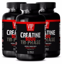 Muscle gain protein - CREATINE TRI-PHASE 5000mg 3B - muscle building factor - $32.68