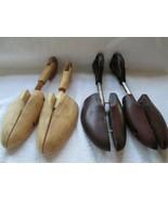C S Pierce and Travel Tree shoe stretchers, 2 pair, # 4, very adjustable... - $25.00