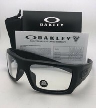 OAKLEY INDUSTRIAL DET-CORD Safety glasses OO9253-07 Matte Black Frame Z87.1 Lens