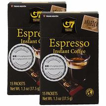Trung Nguyen - G7 Instant Espresso Coffee – 15 Single Serve Sticks - Pur... - $15.13