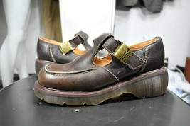 vintage Dr Martens shoes UK 5 US 7 new 80's 90's made in England brown  - $125.00