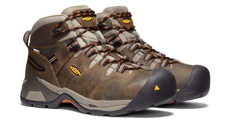 Keen Detroit XT Taille US 10.5 M (D) Eu 44 Homme Wp Souple Orteil Travail Shoes image 4