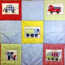 Circo Baby Quilt Boys Car Airplane Boat Firetruck Comforter Blanket Nursery - $36.15