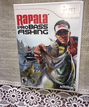 Video Game - Nintendo Wii - RAPALA PRO BASS FISHING FAST FREE SHIPPING= - $7.51