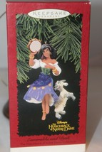 Hallmark Keepsake - Esmeralda and Djali - 1996  - MIB - $3.95