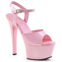 "Pleaser Sexy 6"" Heel Stripper Dancer Most Comfortable Baby Pink Platform... - $43.95"