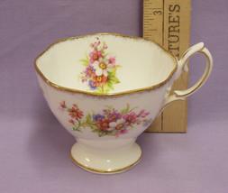 Royal Albert China Cup Chatsworth W/ Flower Design 3176 - $13.85