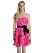 Juniors 11 NWT Jessica McClintock Pink Black Ti... - $22.52