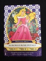 Disney Sorcerers of the Magic Kingdom Card 41 Aurora's Rose Petals Princ... - $10.00
