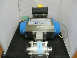 PBM Pneumatic Actuator Valve- PBM-PAVBL253S--0100 - WES 2004NBY2A2M0200 - $280.50