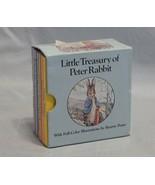 Little Treasury of Peter Rabbit Beatrix Potter Set of 6 Books - $8.42