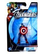 "Hasbro Marvel Avengers Movie Series 2.5"" Captain America MOC Card & Figure - $31.49"