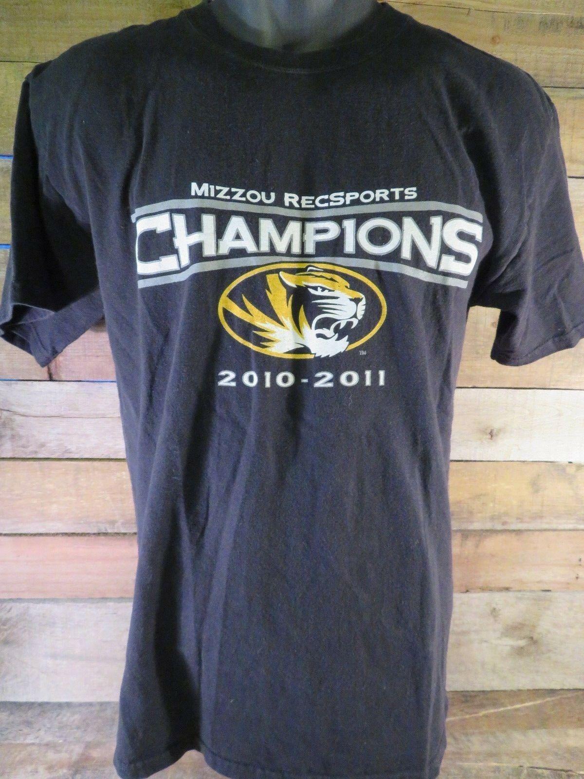 Mizzou Recsports Champions 2010-2011 T-Shirt Taille M image 2