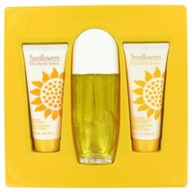 Sunflowers By Elizabeth Arden Gift Set 3.3 Oz Eau De Toilette Spray + 3.3 Oz Hyd - $45.00